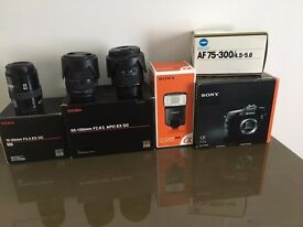 Sony A77 Mk11 Big Bundle !!!!!!!