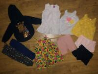 Baby girl clothes bundle 12-18 months summer
