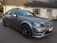 2013 Mercedes C250 CDI AMG Sport Blue Efficiency
