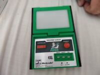 Nintendo retro game and watch Popeye working and in very good condition