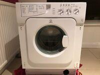 Indesit IWME126 integrated washing machine