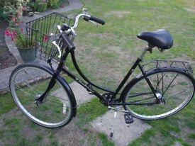 Ladies Town Bike, in very good condition.