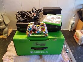 xbox one in box custom controller game plug and play BOXED