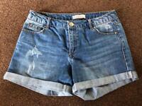 Denium shorts