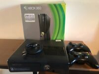 XBox 360, 2 Controllers, All cables, 250GB/Go