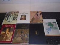 7 large books of variouse art work