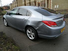 2009 VAUXHALL INSIGNIA 1.8 SRI PETROL - DAMAGED REPAIRABLE SALVAGE