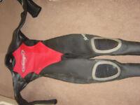 spartan mirage size 4 ladies wetsuit