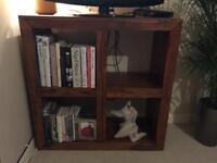 Sheesham Solid Wood Cube Bookcase