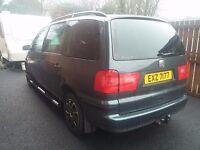 Seat Alhambra 7seats ,2004 , 6 manual gear box , good condition , Belfast 1550 £