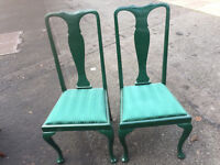 2 x Kitchen/Dining Chairs in good condition. £35each feel free to view free local delivery..