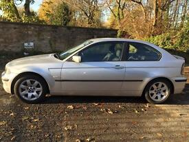 2002 Bmw 320TD 2.0D 3 Door £1000's of Pounds Woth Of Receipts Mot Till Nov 17 No Rust PX Welcome