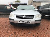 FULL YEAR MOT VOLKSWAGEN PASSAT 1.9 TDI NEW FRONT TYRES NEW 4 BRAKE DISKS AND PADS