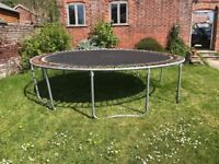 12ft/3.65m trampoline, collection whenever, £1
