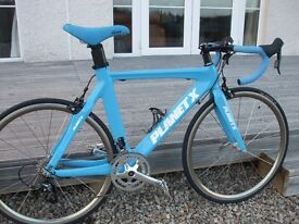 Stunning 50cm Planet-X Stealth Aero Road Bike. As new!! RRP £1800+