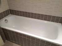 White Steel High Quality Bath - only £45