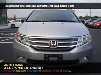 2011 Honda Odyssey TOURING/ LEATHER/ NAVI/ DVD/ BACK-UP CAM