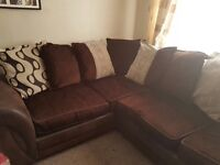 Left Hand Corner Sofa, 18 months old, smoke and pet free home, wanting a smaller sofa