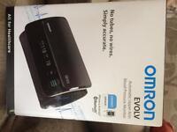 Omron wireless blood pressure reader