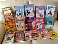Oor Wullie & The Broons set of 16 Hard & paperback books
