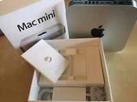 Mac Mini (late 2012), 2.5 GHz Intel i5 Processor, 4 GB RAM, 500 GB Hard Drive