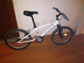 Boys b-twin 20inch wheel bike.