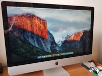 "iMac 27"" Core i7 -1TB-12GB RAM-top spec mid 2010 with magic mouse, trackpad and keyboard - bargain"