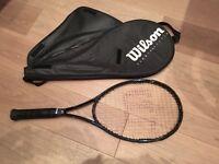 Wilson tennis racket in very good condition