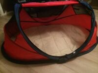 Travel cot/ sun tent