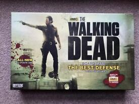 Rare Board Game for Sale - The Walking Dead Board Game The Best Defense