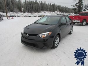 2014 Toyota Corolla CE 5 Passenger, 1.8L 4 Cylinder, 35,560 KMs