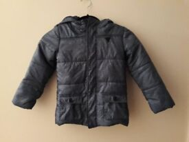 Boys Blue Flecked GUESS Coat for age 6 - never worn