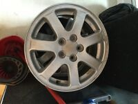 Set of 4 Subaru Alloys not Ford, Vauxhall, Volkswagen, Audi