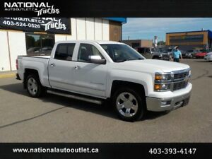 2014 Chevrolet Silverado 1500 LTZ Z71 Leather HeatedVented Seats