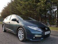 APRIL 2012 HONDA CIVIC 5DOOR 1.8 i-VTEC ES 6SPEED STUNNING LOW MILEAGE EXAMPLE FULL HONDA HISTORY !