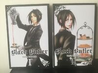 Black Butler manga books volume 1 ,volume 2 .