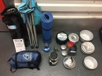 2 x Person Eurohike (Pack Deluxe Tent) and Misc Camping Equipment (See Photos)