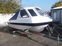 Endeavour Sea Jeep 40HP 2016 Model Year Fishing Boat & Trailer - AS NEW ONLY USED FOR 10 HOURS
