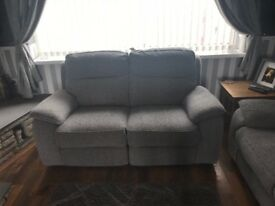 DFS Fabric Recliner Sofa