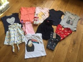 Girls clothing bundle. Age 6-7 years. Some new, M&S, Next etc. 12 items