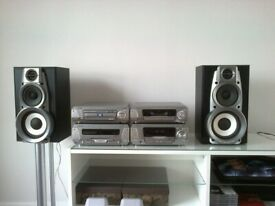 TECHNICS SYSTEM SA-DV290 5 DVD/CD CHANGER, WMA/MP3 HIGH END MODEL