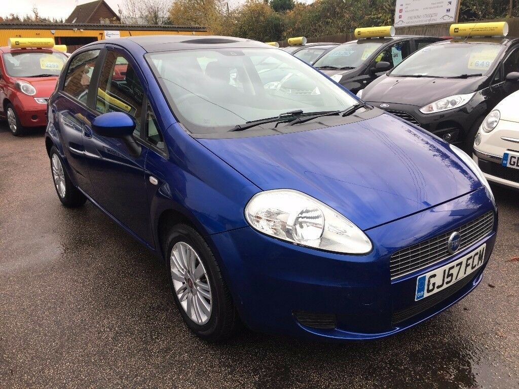 fiat grande punto 1 4 automatic blue 2007 in maidstone. Black Bedroom Furniture Sets. Home Design Ideas