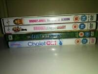 DVD bundle set of 4