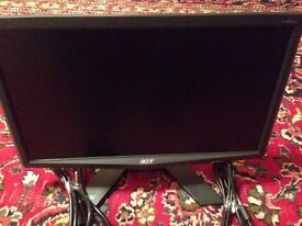 """Acer X X193HQ 19"""" LCD Monitor - New like condition."""