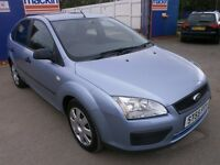 2005 FORD FOCUSE 1.8 TDCI DIESEL 5DOOR,NEW TIMING BELT KIT 70K FULL SERVICE HISTORY, DRIVES LIKE NEW