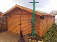 Shed, Workshop, Office, Mancave, Animal Shelter, Stable etc.