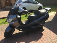 good solid maxi scooter,well maintained and look after