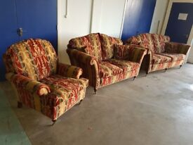 DURESTA CHARTWELL LOUNGE SUITE 3 SEATER 2 SEATER SOFA SETTEE & ARMCHAIR DELIVERY AVAILABLE