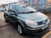 RENAULT SCENIC AUTOMATIC 1.6 DYNAMIQUE PETROL 2006 LOW MILEAGE 47000 MILES DRIVES NICE 2006
