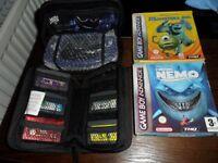 Nintendo Gameboy Advance Console With Games Pokemon Rare Retro Game Boy